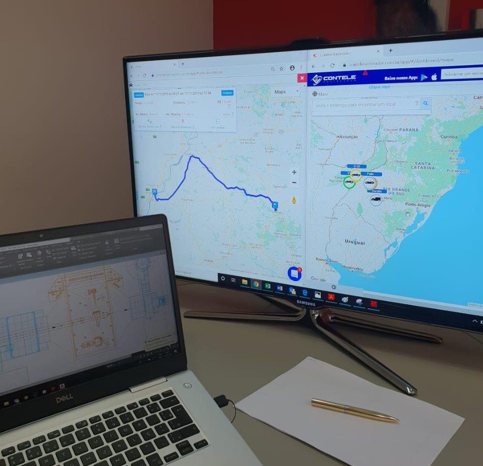 Sistema de rastreamento de frota oferece agilidade permanente